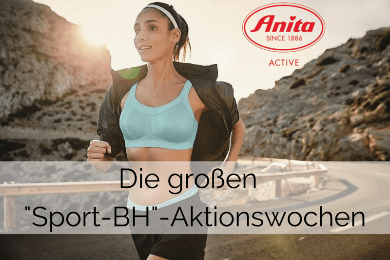 Anita Sport-BH Aktionswochen | Optimaler Schutz durch Sport-BHs